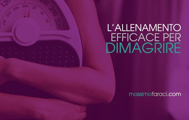 Allenamento per Dimagrire - Personal Trainer Massimo Faraci