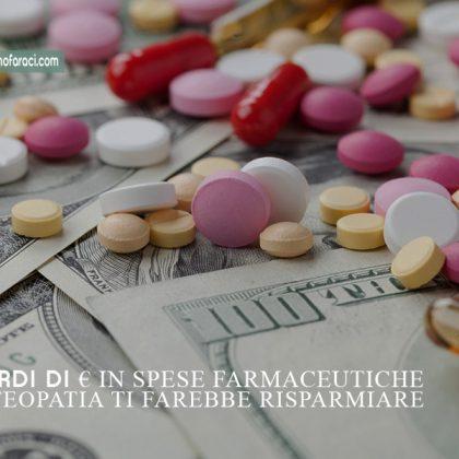 Miliardi spesi in farmaci, con l'osteopatia si risparmierebbe...