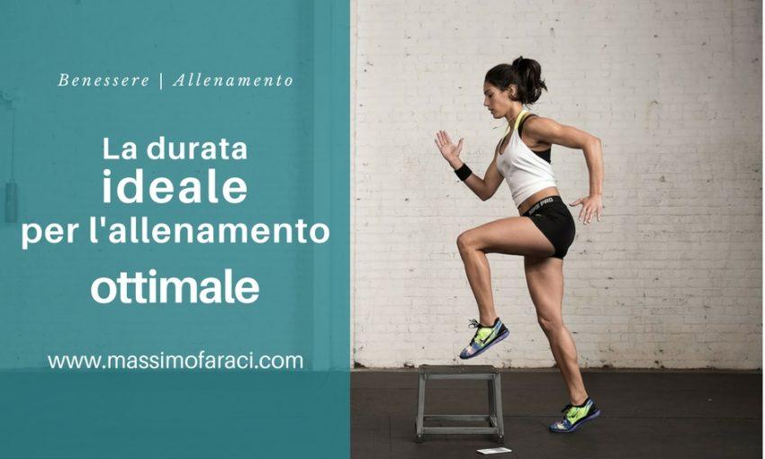 L'allenamento ottimale - allenamento giornaliero