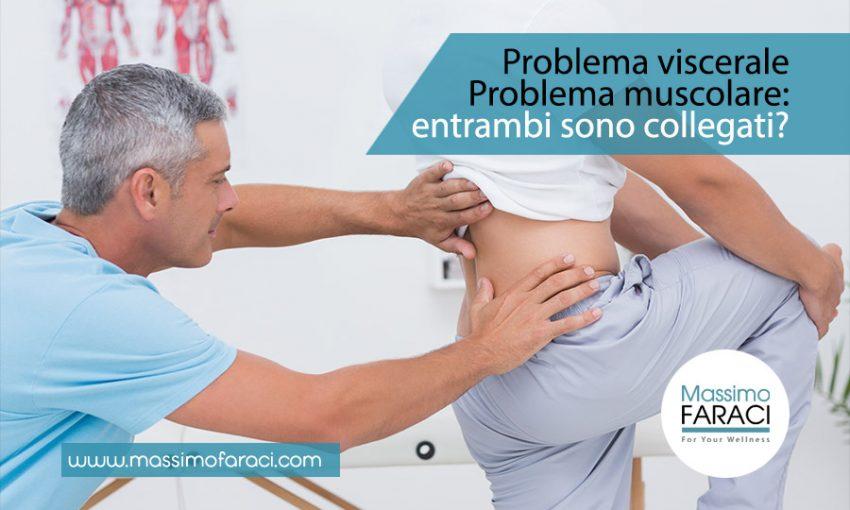Problemi muscolari e viscerali collegati tra loro