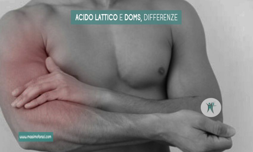 Le differenze tra acido lattico e doms