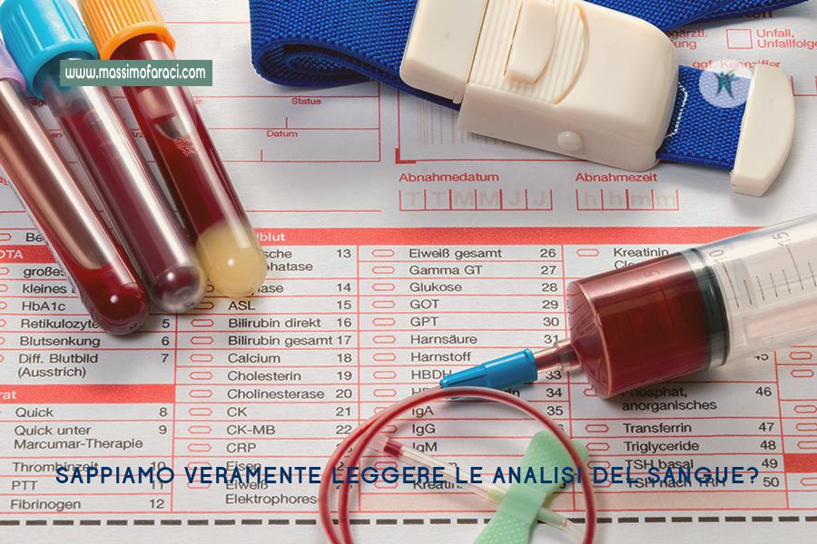 Come leggere le analisi del sangue