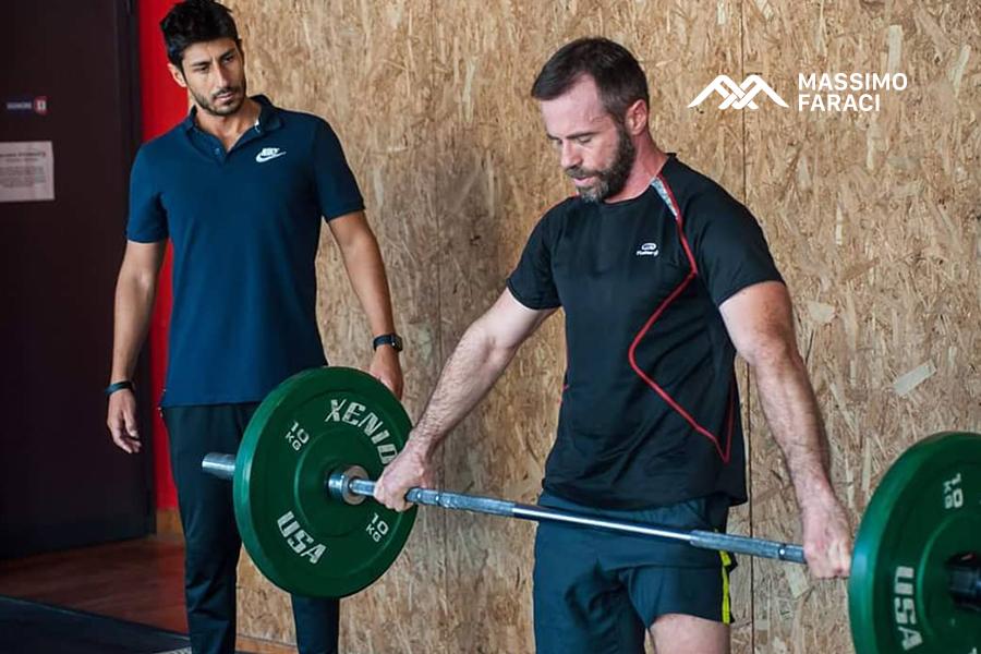Massimo Faraci personal trainer